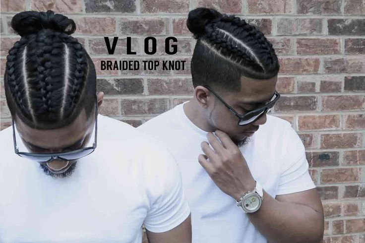 FRESH CUT | NEW STYLE BRAIDS | SAMURAI TOP KNOT | MAN BUN