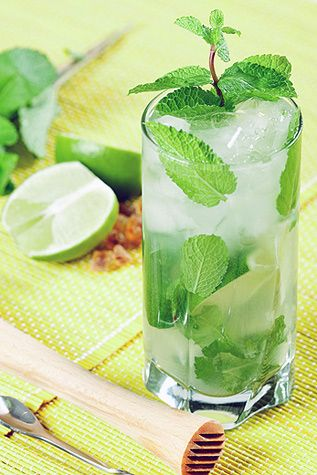 Lemongrass Mojitos, from The Wicked Noodle