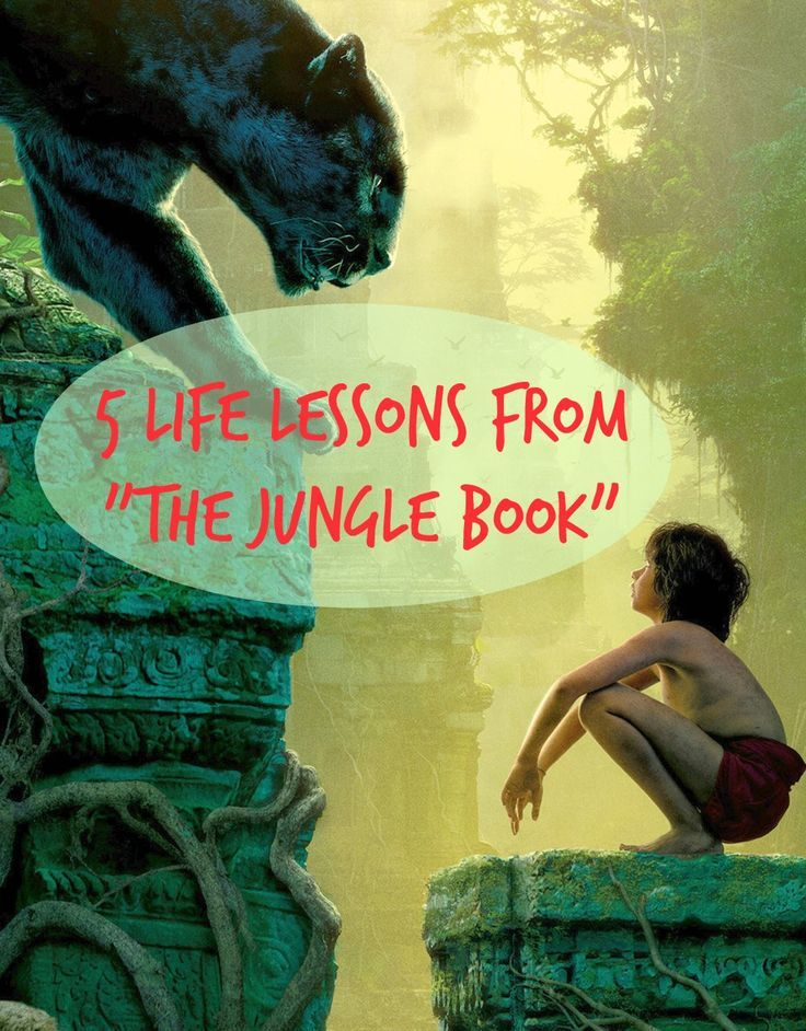 "5 Life Lessons and Moral Value In ""The Jungle Book Movie (2016)"" #thejunglebook #junglebook #mowgli #bagheera #lifelessons #moralvalue #disney #thejunglebookmovie #morallessons"