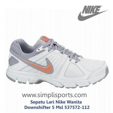 Sepatu Lari Nike Wanita Downshifter 5 Msl 537572-112 ORI