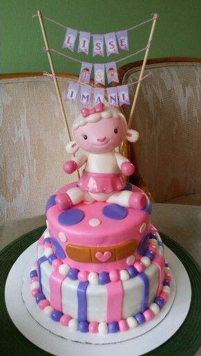 Doc Mcstuffins Birthday Cake.