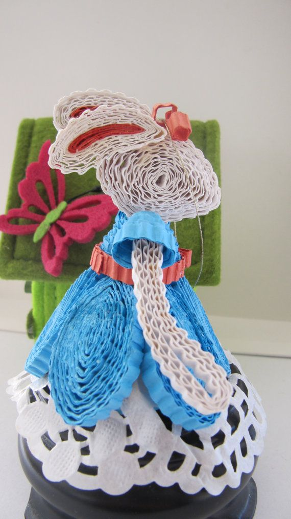 3D Easter bunny Quilling