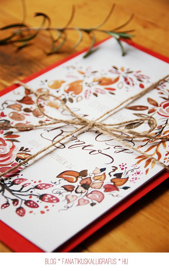 Watercolour and calligraphy by The Fanatic Calligrapher
