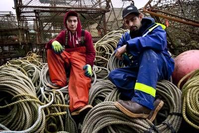 Deadliest Catch - Jake and Josh Harris - hope for better days ahead!
