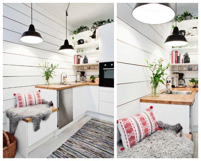 Trucos de almacenamiento en cocinas minis decorar tu - Trucos para decorar tu casa ...