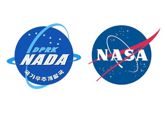 NADA: Even though North Korea considers the United States their enemies, this did not stop them from copying the logo of NASA for their own space agency. The space program is set to start with the establishment of Kim Jong-il and Kim Il-sung's complete space power. If this does not amuse you, the meaning of nada in Spanish might. The word is largely used in Europe with the same meaning: nothing. And this is precisely what NADA has accomplished until now.