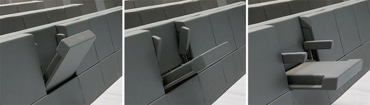 Auditorium Seating: Lamm's Genya System //