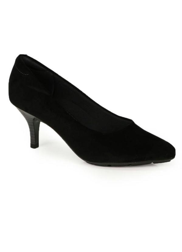 Sapato Scarpin Comfort Modare Preto   – Products