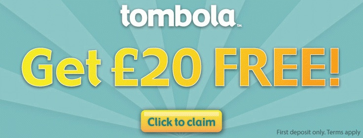 Get £20 Free at Tombola Bingo.