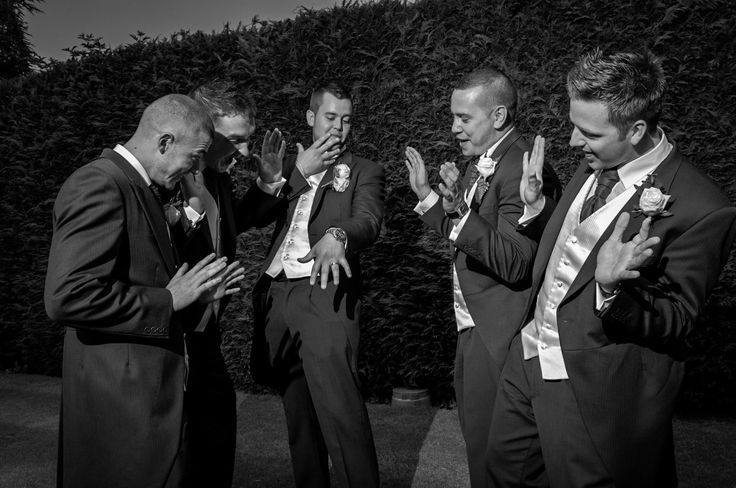 The groomsmen!