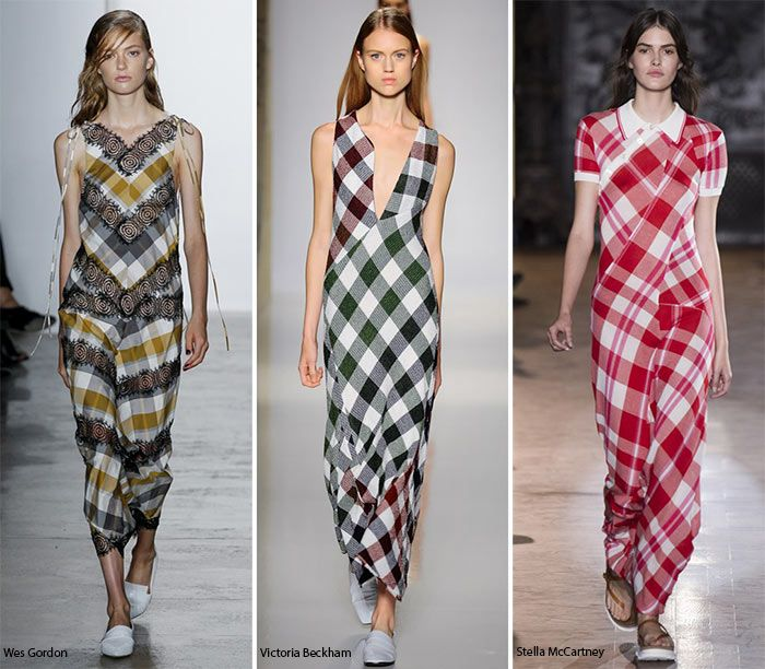 Spring/ Summer 2016 Print Trends: Gingham Patterns