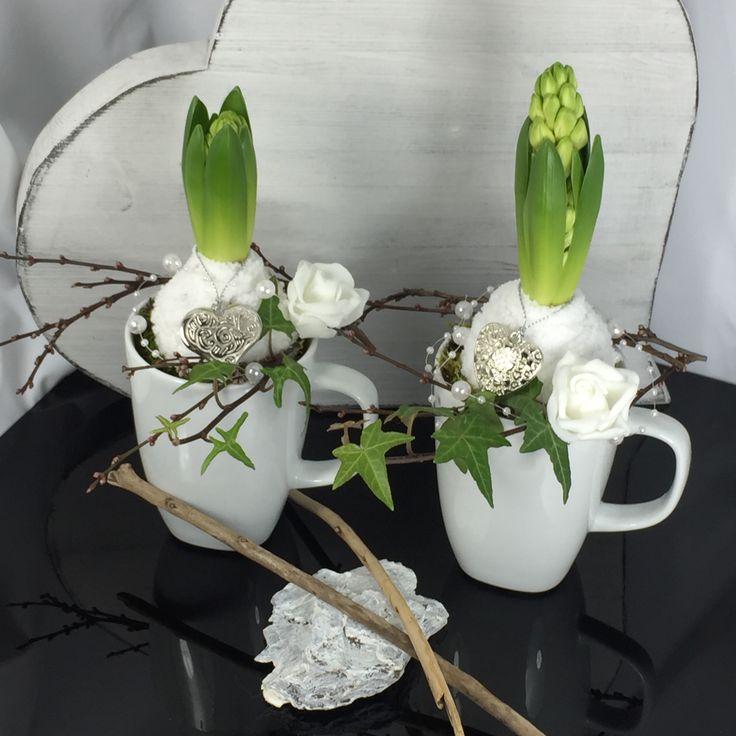 Geweldige decoratie voor de lente❤️ # lente #Deko #valentinesdaygiftideas #geschen …  – Frühling