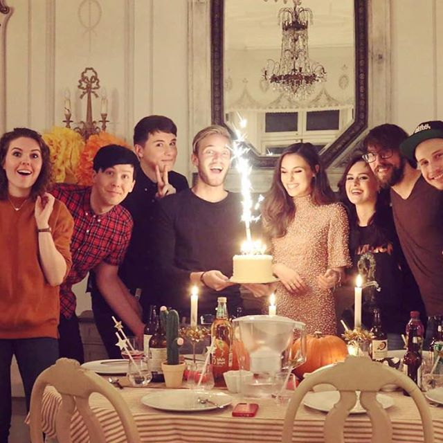 The whole gang <3!!!!! Happy bday Marzia!!!