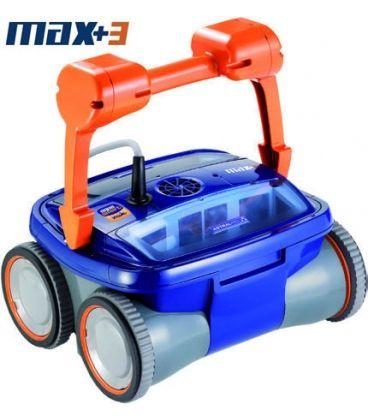 Limpiafondos Max-3 de Astralpool. El primer robot 4x4 con tracción inteligente.