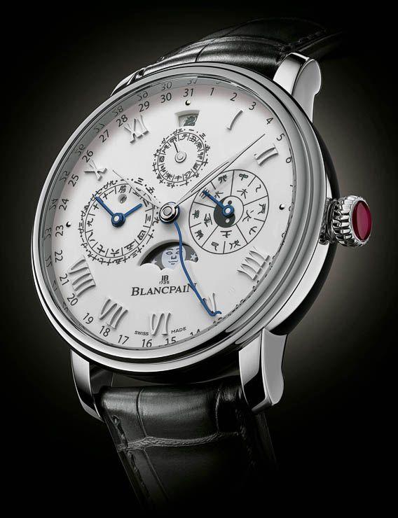 La Cote des Montres : La montre Blancpain Calendrier Chinois Traditionnel - La première montre-bracelet dotée d'un calendrier chinois traditionnel