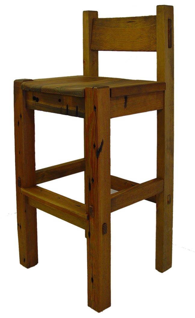 Rustic Counter Stools With Low Backs Google Search