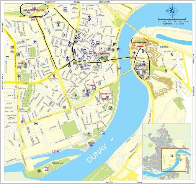 Best Novi Sad Нови Сад Images On Pinterest Novi Sad Bacon - Novi sad map