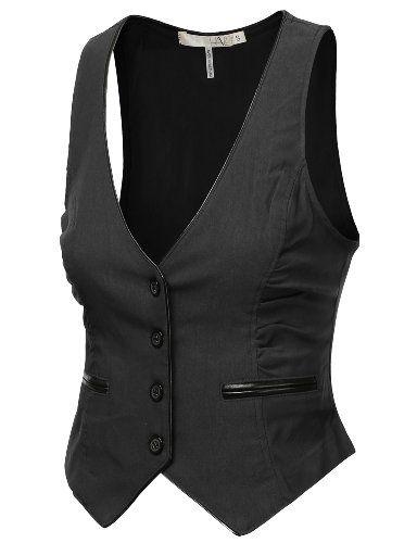 J.TOMSON Womens Button Down Vest LARGE BLACK J.TOMSON http://www.amazon.com/dp/B00EVDMBGI/ref=cm_sw_r_pi_dp_cPPZtb0JS6RD4X71