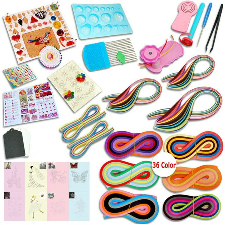 Buy writing paper quilling set