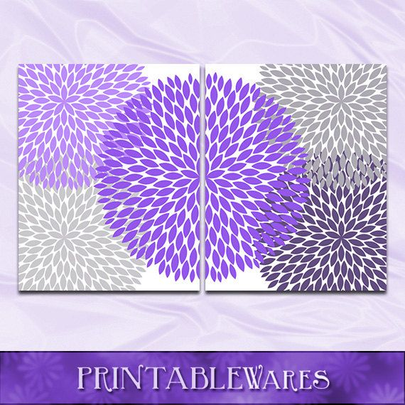 Purple And Gray Wall Art 43 best wall art decor images on pinterest | wall art decor