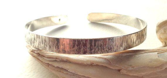 Arm BandBangle Textured 925 Sterling by PavlosHandmadeStudio