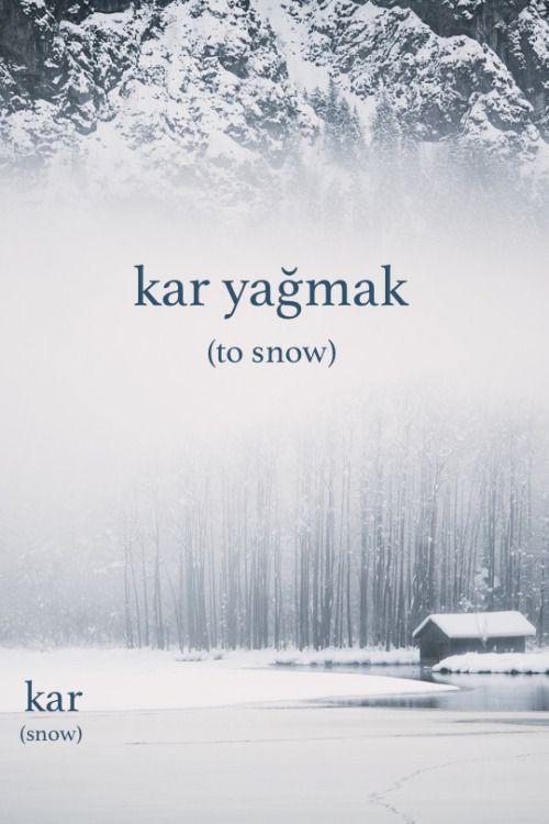 Learning turkish
