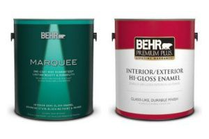 How to Paint Trim and Doors: Use a semi-gloss gloss paint.