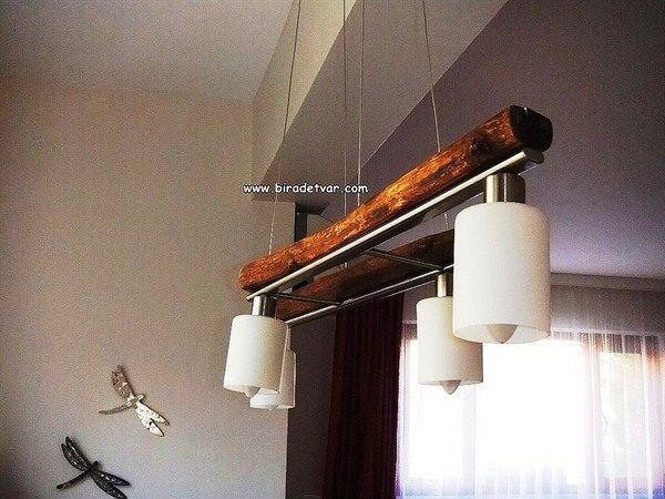 Zek-006 Wood Design Lamp - info@biradetvar.com