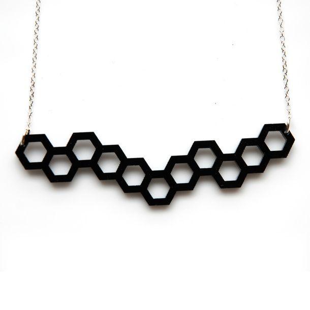 Hexagonal Necklace