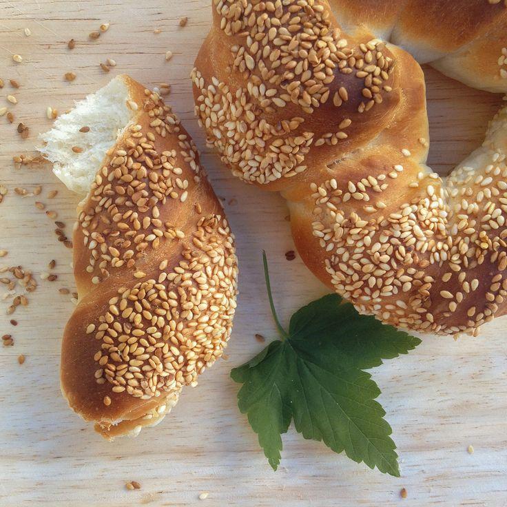 Симит, домашняя выпечка, хлеб