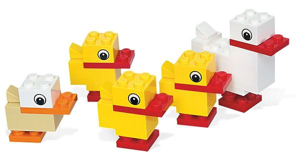 Lego Duck with Ducklings #40030