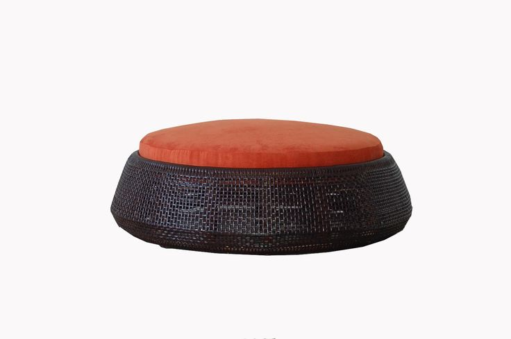 Alila round ottoman by iBalDesigns