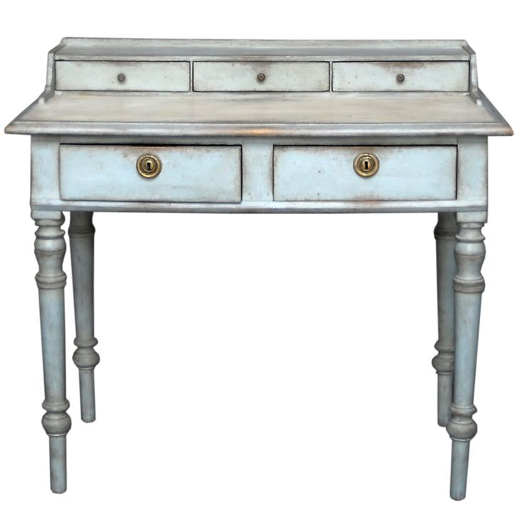 Empire Style Writing Desk  Sweden  Circa 1890