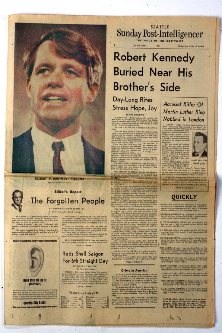 Local News  Historic Front Pages From The Seattle Postintelligencer   Seattle Times Newspaper