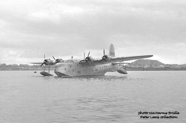 NAC, New Zealand National Airways Corporation, Sunderland Flying Boat