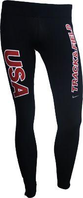 Nike USATF Women's SR Filament Running Tights. I love them!!! #TrackNation #TrackandField
