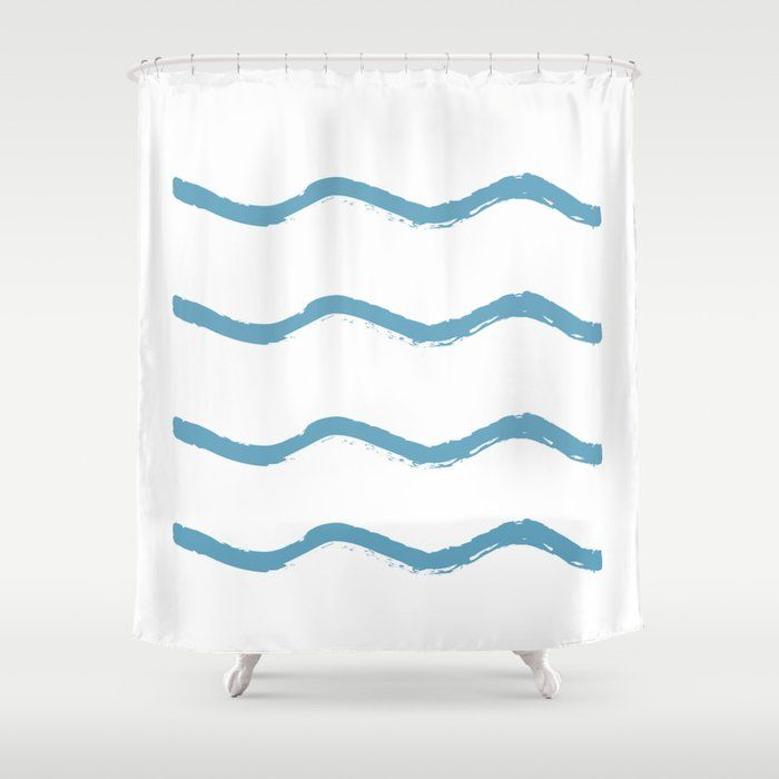 Stop Neglecting Bathroom Decor This Shower Curtain Bring A Fresh New Feel To An Overlooked Space Hookless And Extra L In 2020 Shower Curtain Curtains Bathroom Decor