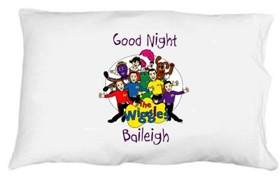 The Wiggles Personalized Pillowcase | eBay