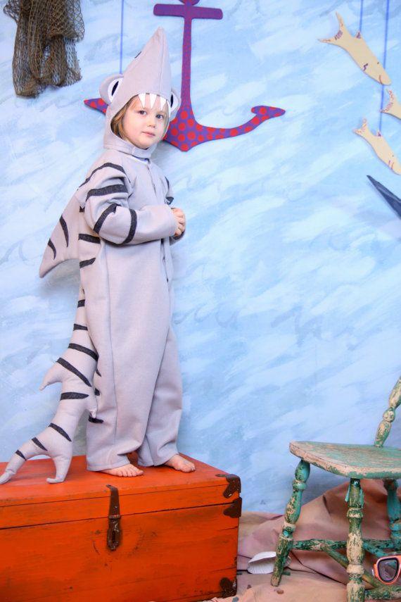 Tiger shark costume. Get a jump start on next year.