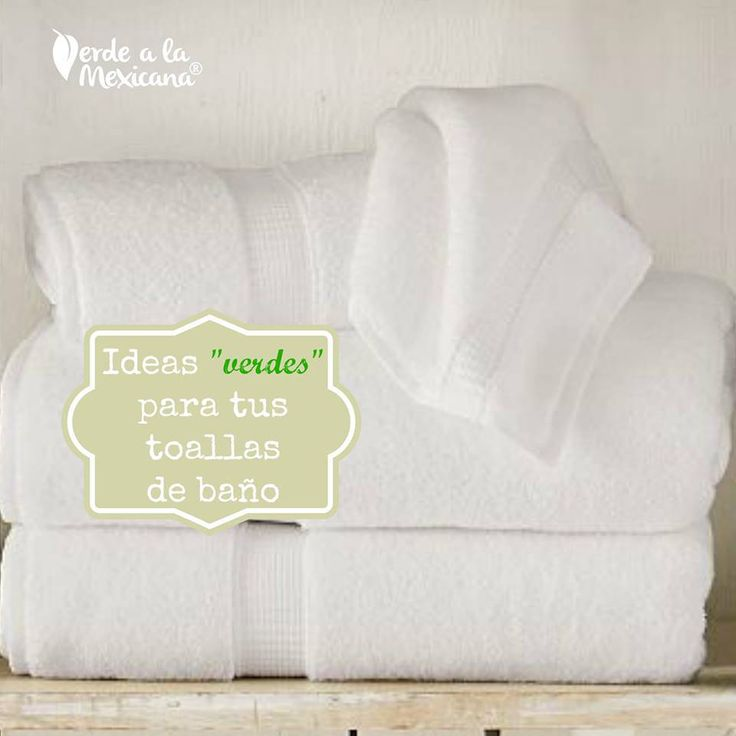 C mo lavar las toallas de ba o tips verde a la mexicana - Como lavar toallas ...