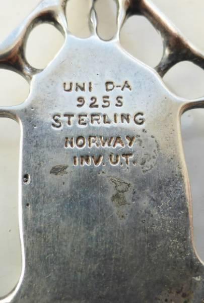 SPESIELT HALSKJEDE 926S & EMALJE – UNI DAVID ANDERSEN - Selges av arever60 fra Drammen på QXL.no