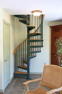 Superior Spiral Stairs : Designs In Metal & Wood