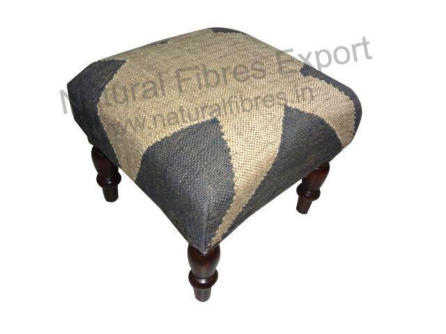 stool #ottoman Natural Fibres Export