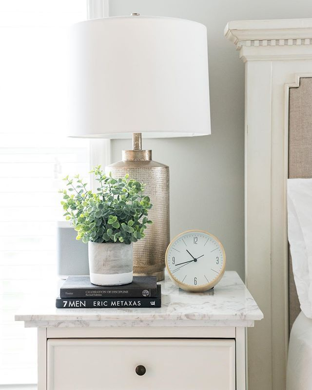 His And Her Nightstand Decor Ideas From Sifted Style Nightstand
