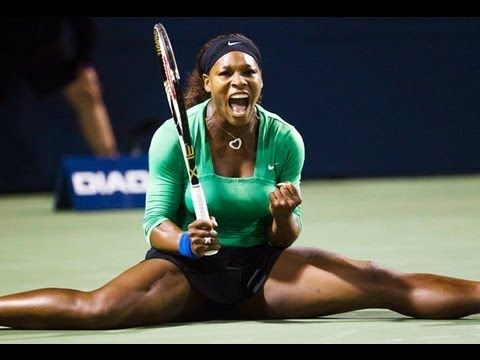 Serena Williams Tennis Match Splits Compilation | Sport Intensity