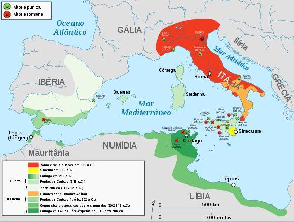 Guerras Púnicas – Wikipédia, a enciclopédia livre