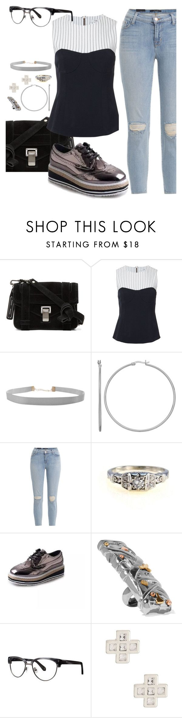 """Reddit"" by chelsofly ❤ liked on Polyvore featuring Proenza Schouler, TIBI, Humble Chic, J Brand, Acne Studios, Zac Posen and Marc Jacobs"