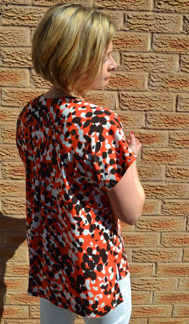 237 best sewing patterns tops and blouses images on pinterest see me coming orange blouse sewing patternsweatherblousestitching jeuxipadfo Choice Image