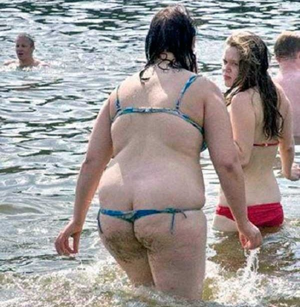 Porn fat girls in thongs — photo 14