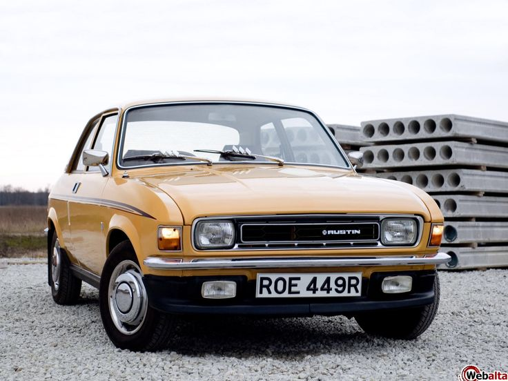 Austin Allegro Lovely car ! (The Grateful Disciple, David Wells Ch 11)